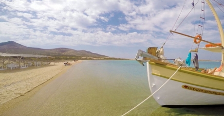 "MINI CRUISE WITH A BOAT – ""MICHAEL ZEPPOS""(PAROS ISLAND)"